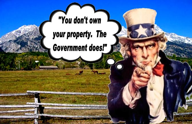 Government Owns Your Property