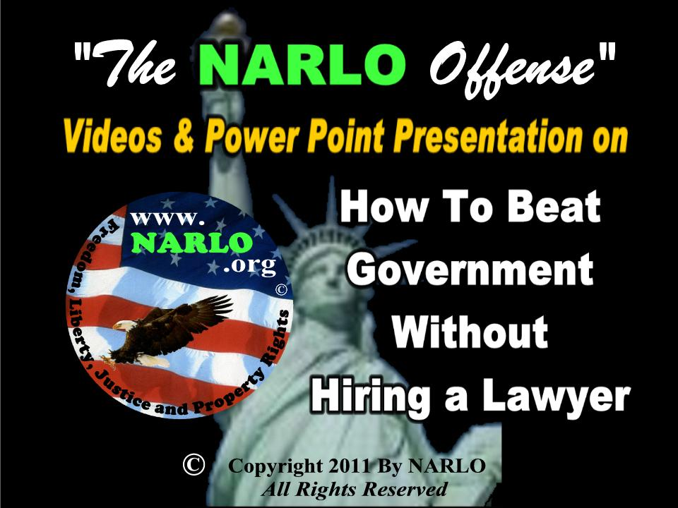 The NARLO Offense Video Page